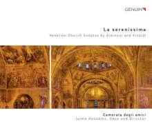 """Tomaso Albinoni (1671-1751): Triosonaten op.1 Nr.1-12 (1694) """"Sonate da chiesa"""", CD"""