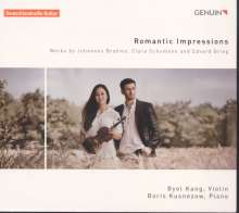 Byol Kang & Boris Kusnezow - Romantic Impressions, CD