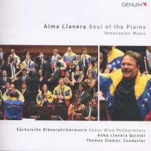 Sächsische Bläserakademie - Alma Llanera (Musik aus Venezuela), CD