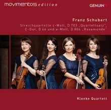 Franz Schubert (1797-1828): Streichquartette Nr.4 & 13, CD