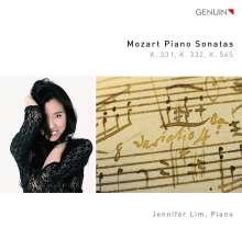 Wolfgang Amadeus Mozart (1756-1791): Klaviersonaten Nr.11,12,16, CD