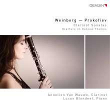Annelien van Wauwe - Weinberg / Prokofieff, CD