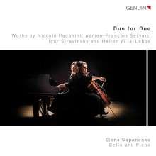 Elena Gaponenko - Duo for One, CD
