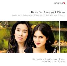 Katherine Needleman & Jennifer Lim - Duos for Oboe and Piano, CD