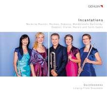 Quintessenz Leipziger Querflötenensemble - Incantations, CD