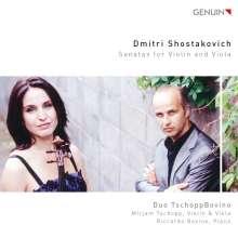 Dmitri Schostakowitsch (1906-1975): Sonate für Violine & Klavier op.134, CD