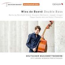 Wies de Boeve, Kontrabass, CD