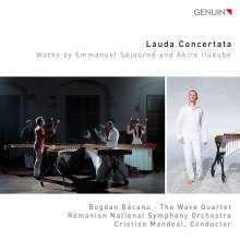 Akira Ifukube (1914-2006): Lauda Concertata für Marimba & Orchester, CD