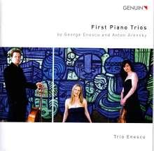 George Enescu (1881-1955): Klaviertrio Nr.1, CD