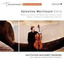 Valentino Worlitzsch, Cello, CD