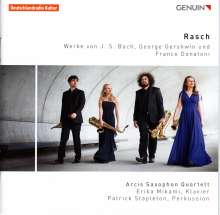 Arcis Saxophon Quartett - Rasch, CD