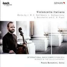 Paolo Bonomini - Violoncello Italiano, CD