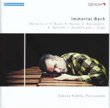 Simone Rubino - Immortal Bach, CD