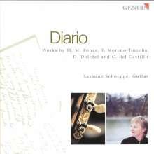 Susanne Schoeppe - Diario, CD