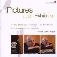 Modest Mussorgsky (1839-1881): Bilder einer Ausstellung (Fassung für Bayan), CD