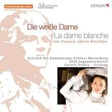 Francois Adrien Boieldieu (1775-1834): La Dame Blanche (in dt.Spr.), 2 CDs