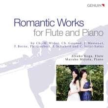 Atsuko Koga & Mayuko Miyata - Romantic Works for Flute and Piano, CD