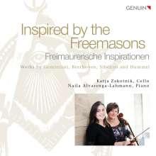 Katja Zakotnik & Naila Alvarenga-Lahmann - Freimaurerische Inspirationen, CD