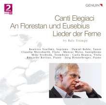 Balz Trümpy (geb. 1946): Canti Elegiaci für Sopran, Flöte & Klavier, CD