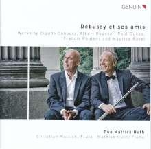 Duo Mattick Huth - Debussy et se amis, CD