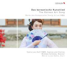 "Young Jo Lee (geb. 1943): Lieder ""Das koreanische Kunstlied"", CD"