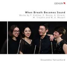 Ensemble Tetrachord - When Breath becomes Sound, CD