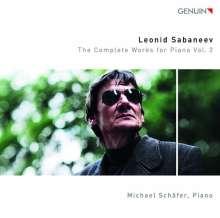 Leonid Sabaneev (1881-1968): Sämtliche Klavierwerke Vol.2, CD