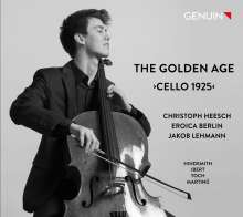 "Christoph Heesch - The Golden Age ""Cello 1925"", CD"