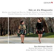 Duo Kermani-Gentili - Ode an die Rhapsodie, CD