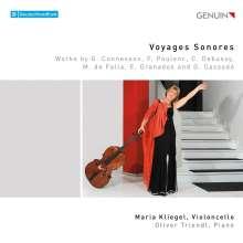 Maria Kliegel - Voyages Sonores, CD