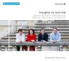 Asasello-Quartett - Insights to-morrow, CD