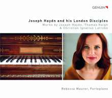 Rebecca Maurer - Joseph Haydn and his London Disciples, CD