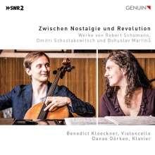 Benedict Kloeckner & Danae Dörken - Zwischen Nostalgie und Revolution, CD