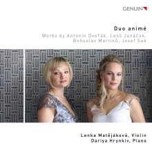 Duo Anime - Dvorak / Janacek / Martinu / Suk, CD