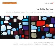 Duo Ingolfsson-Stoupel - La Belle Epoque, CD