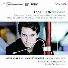 Theo Plath - Fagottkonzerte, CD