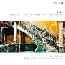 Duo Lontano - Latin, CD