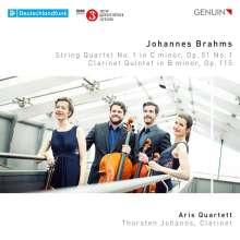 Johannes Brahms (1833-1897): Streichquartett Nr.1, CD
