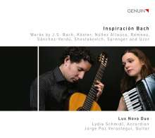 Lux Nova Duo - Inspiracion Bach, CD