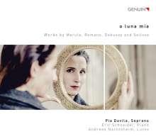 Pia Davila - O Luna Mia, CD