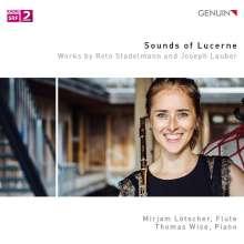 Joseph Lauber (1864-1952): Grande Sonate für Flöte & Klavier op.53, CD