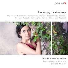 Heidi Maria Taubert - Passacaglie d'amore, CD