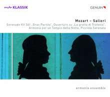 Antonio Salieri (1750-1825): Harmoniemusiken, CD