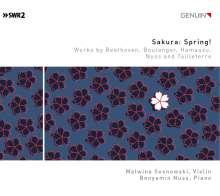 Malwina Sosnowski & Benyamin Nuss - Sakura: Spring!, CD