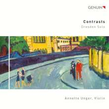 Annette Unger - Contrasts (Dresden Solo), CD