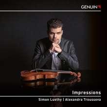 Simon Luethy - Impressions, CD