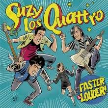 Suzy & Los Quattro: Faster & Louder, LP