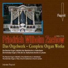 Friedrich Wilhelm Zachow (1663-1712): Das Orgelwerk, 2 CDs