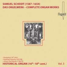 Samuel Scheidt (1587-1654): Das Orgelwerk Vol.3, CD