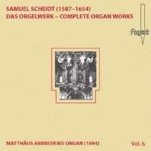 Samuel Scheidt (1587-1654): Das Orgelwerk Vol.6, CD